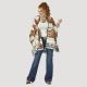 WRANGLER WOMEN'S WRANGLER RETRO® SOUTHWESTERN PRINT BLANKET CAPE LWK709M