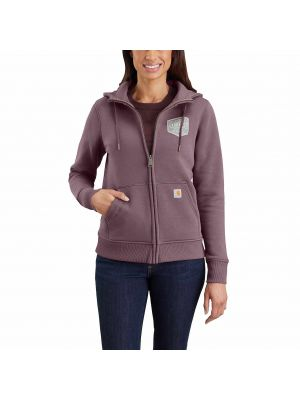 Carhartt Women's CLARKSBURG FULL-ZIP GRAPHIC HOODIE 104041