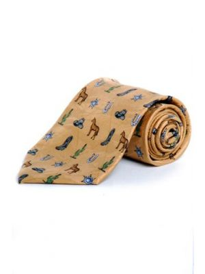 Circle S Men's Tie Cowboy Elements CST7000