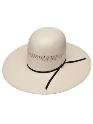 b653f1c348b ... Resistol 10X Open V Classics Collection Straw Cowboy Hat