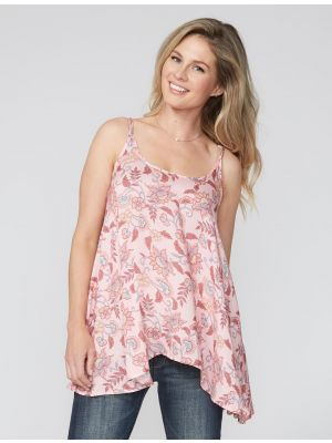 Stetson Wildflower Print High Low Cami 11-052-0590-2030