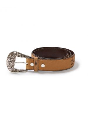 Stetson Silverthorne Belt in Brown 1182S