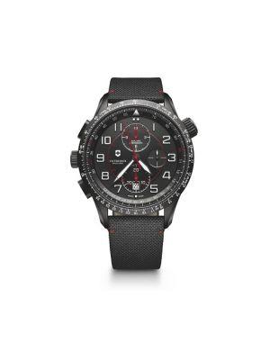 Victorinox Men's Watches Airboss Mach 9 Black Edition 241716