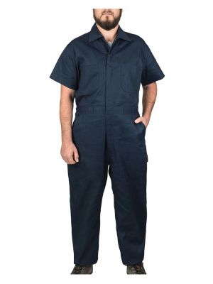 Walls Men's Twill Non-Insulated Short Sleeve Coverall 1216
