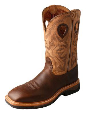 Twisted X Men's Lite Cowboy Work Boots 0502D7