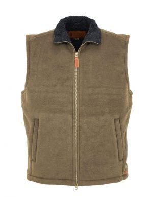 Outback Trading Company Men's Summit Fleece Vest 4834-BRE-SM