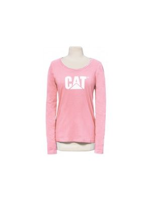 Cat Women's Signature Logo L/S Tee 4354