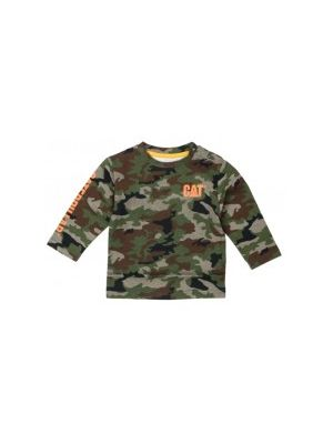 Cat Children's Infant Banner L/S Tee 5546