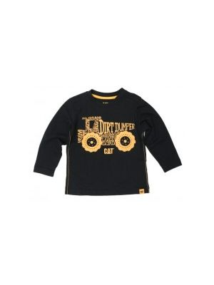 Cat Children's Dirt Dumper L/S Tee 5574