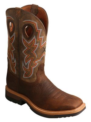 Twisted X Men's Lite Cowboy Work Boots 2000228536