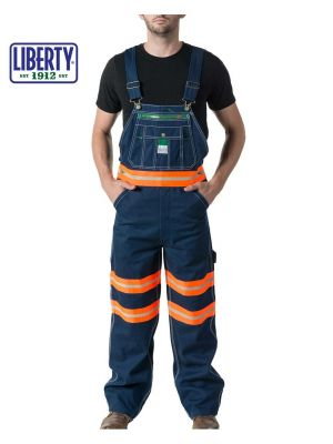 Walls Men's Liberty® Bib with Hi-Vis Tape 18T007