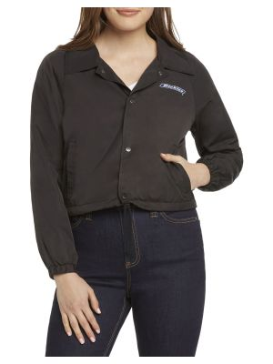 DICKIES GIRL'S Cropped Logo Wind Breaker Jacket J4007
