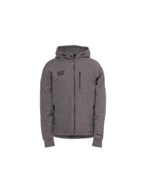 Cat Men's Drop Tail Zip Sweatshirt TZS002