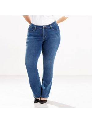 Levi's Women's 315 SHAPING BOOT CUT JEANS (PLUS) 196450006 Front