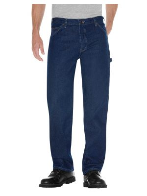 Dickies Relaxed Fit Carpenter Denim Jean 1993 Rinsed Indigo Blue (RNB)