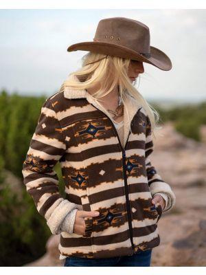 Outback Trading Company Women's Dawn Jacket 29662-BRN-SM