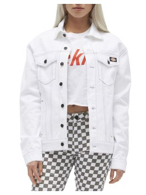 DICKIES GIRL'S Jacket, Black/White DN601