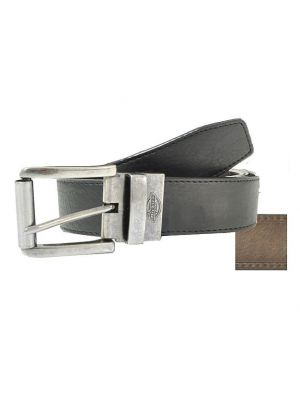 Dickies Mens Leather Cut-To-Fit Reversible Belt 1DI02L8BKAL