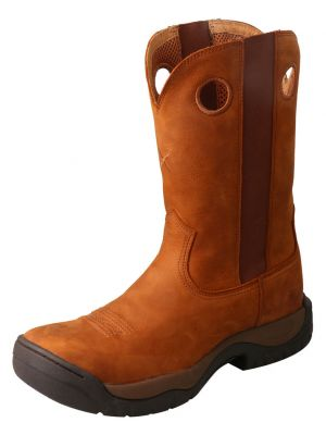 Twisted X Men's Red Buckle All Around Boots 2000274191