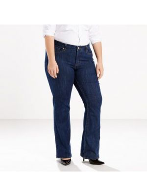 Levi's Women's  415 RELAXED BOOT CUT JEANS (PLUS) 236490005 Front
