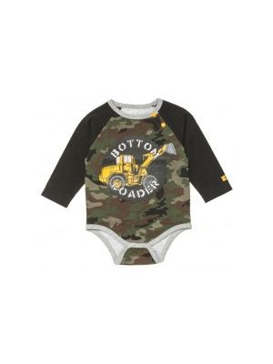 Cat Children's Infant Bottom Loader Bodysuit 5606
