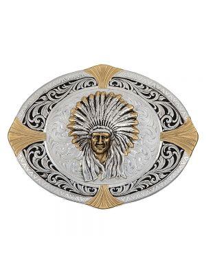 Montana Silversmiths Native Spirit Now High Plains Cardinal Points Belt Buckle 24410