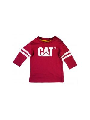 Cat Children's Infant L/S Logo Tee 4507