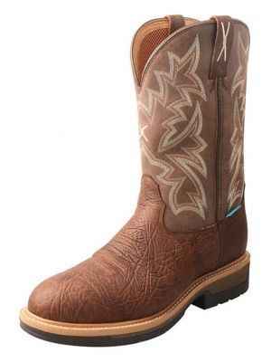 Twisted X Men's  Lite Cowboy Western Work Boots  2000275601
