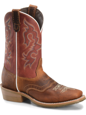 Double H Boot Mens 11 Inch Domestic Wide Square Toe Work Western DH4631