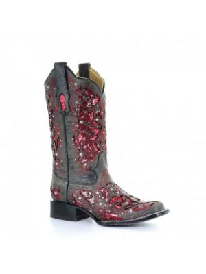 Corral Women's LD GREY-RED A3647