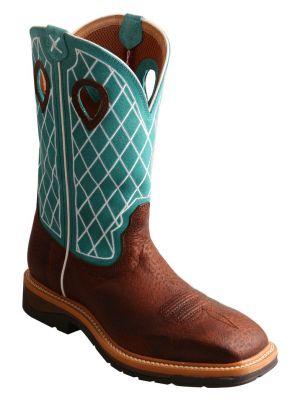 Twisted X Men's Lite Cowboy Work Boots 2000222064