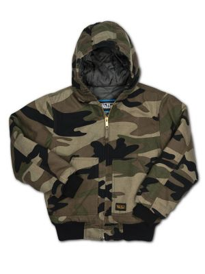 Walls Kids Youth Insulated Hooded Jacket 35342