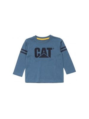 Cat Children's Toddler Logo L/S Tee 5557
