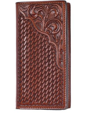 3D Tan Western Rodeo Wallet 3D-AW11