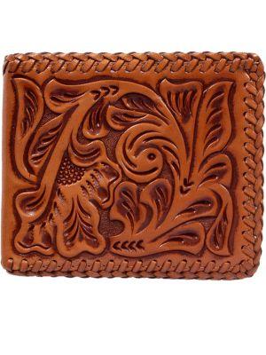 3D Natural Western Bifold Wallet 3D-AW117