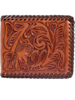 3D Natural Western Bifold Wallet 3D-AW127