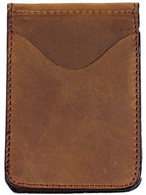 3D Brown Basic Money Clip 3D-MC102
