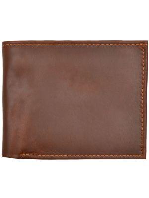 3D Cognac Basic Bifold Wallet 3D-W1016