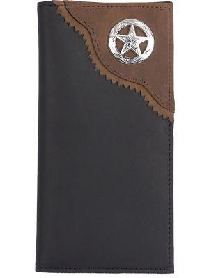 3D Black Western Rodeo Wallet 3D-W203