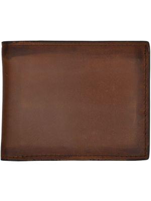 3D Brown Basic Bifold Wallet 3D-W614