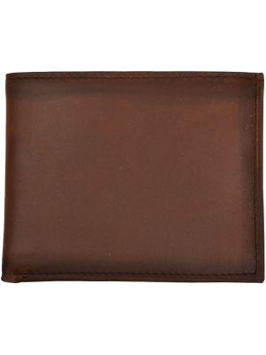 3D Brown Basic Bifold Wallet 3D-W622