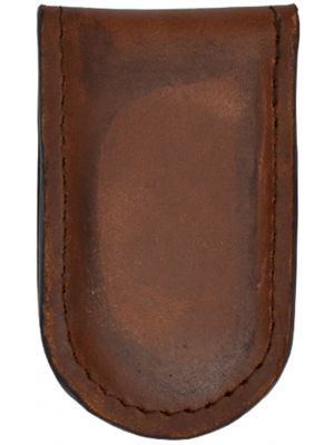 3D Brown Basic Money Clip 3D-W654