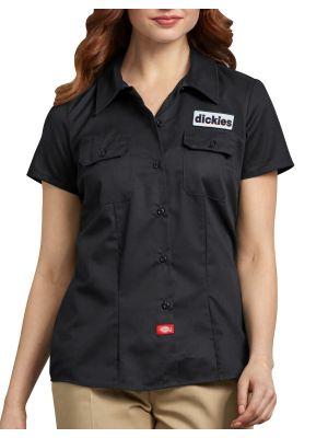 DICKIES WOMEN'S Short Sleeve Patch Work Shirt FS574E