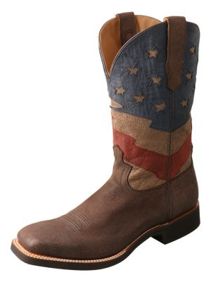 Twisted X Men's Patriotic Rancher Western Boots 2000287422
