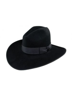 ... Resistol 4X HUNTER B 4X Bison Felt Cowboy Hat b80cc950b83