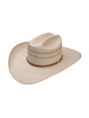 Resistol 50X Open Range Premier Collection Straw Cowboy Hat