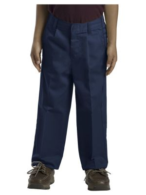 Dickies Boys' Classic Fit Straight Leg Pleated Front Pant, 8-20 Husky 58062