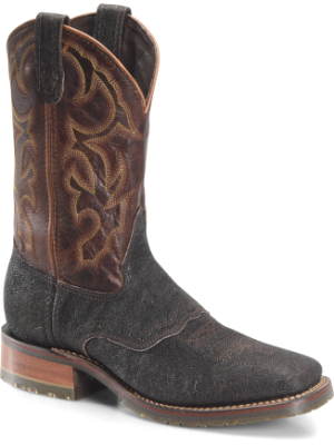 Double H Boot Mens 11  Wide Square Toe Roper DH3589