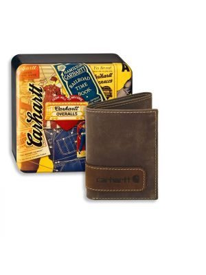 Carhartt TWO-TONE TRIFOLD WALLET WITH COLLECTIBLE TIN 61-2205