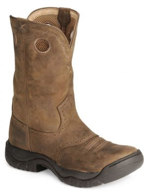 Twisted X Men's Distressed All Around Barn Boots 036B35